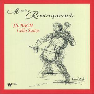 ROSTROPOVICH, Mstislav - JS Bach: Cello Suites (reissue)