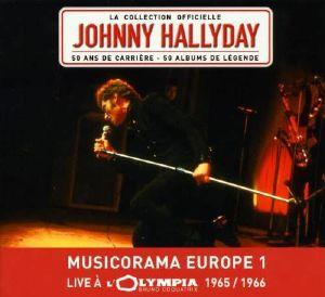 HALLYDAY, Johnny - Musicorama Olympia 1966