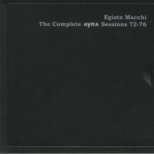 MACCHI, Egisto - The Complete Ayna Sessions 72-76
