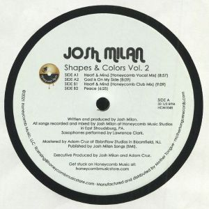 MILAN, Josh - Shapes & Colors Vol 2
