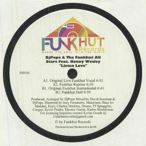 Djpope / The Funkhut All Stars / Kenny Wesley - Listen Love