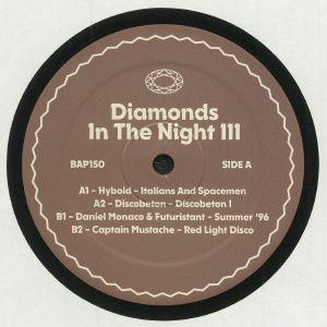 HYBOID/DISCOBETON/DANIEL MONACO/FUTURISTANT/CAPTAIN MUSTACHE - Diamonds In The Night Vol 3