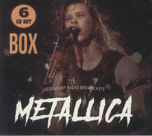 METALLICA - Box: Legendary Radio Broadcasts