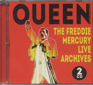 QUEEN - The Freddie Mercury Live Archives