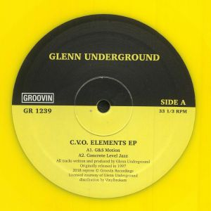 UNDERGROUND, Glenn - CVO Elements EP (reissue)