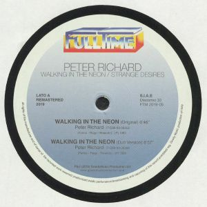 RICHARD, Peter - Walking In The Neon (remastered)
