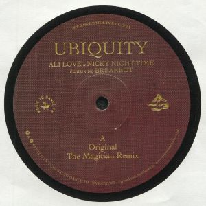 ALI LOVE/NICKY NIGHT TIME feat BREAKBOT - Ubiquity