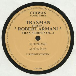 TRAXMEN present ROBERT ARMANI - Collection Vol 1 (reissue)
