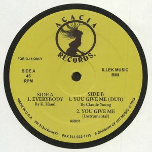 K HAND/CLAUDE YOUNG - Everybody (remastered)