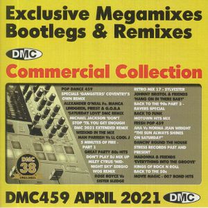 VARIOUS - DMC Commercial Collection April 2021: Exclusive Megamixes Bootlegs & Remixes (Strictly DJ Only)