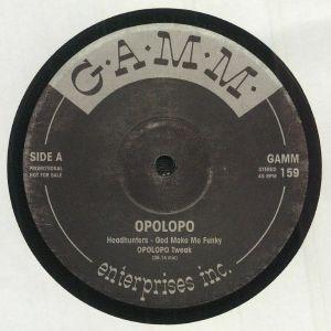 OPOLOPO/HEADHUNTERS/SYLVIA ST JAMES - God Made Me Funky