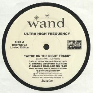 ULTRA HIGH FREQUENCY - We're On The Right Track (remixes)