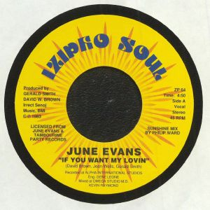 EVANS, June - If You Want My Lovin'