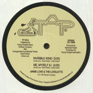 LOVE, Arnie/THE LOVELETTS - Invisible Wind (reissue) (Record Store Day RSD 2021)