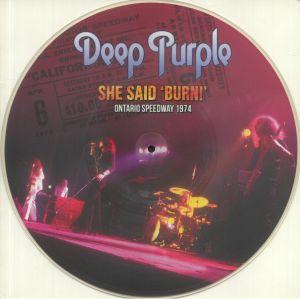 DEEP PURPLE - She Said Burn! Ontario Speedway 1974