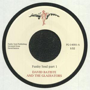 BATISTE, David/THE GLADIATORS - Funky Soul (reissue)