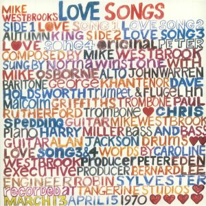 MIKE WESTBROOK CONCERT BAND, The - Mike Westbrook's Love Songs (reissue)