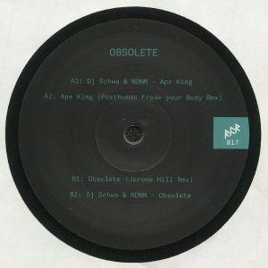 DJ SCHWA/NDNM - Obsolete (Posthuman, Jerome Hill mixes)