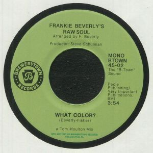 FRANKIE BEVERLY'S RAW SOUL - What Color