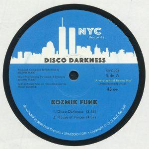 KOZMIK FUNK - Disco Darkness EP