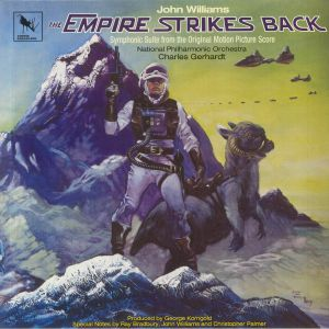 WILLIAMS, John/NATIONAL PHILHARMONIC ORCHESTRA/CHARLES GERHARDT - The Empire Strikes Back: Symphonic Suite From The Original Motion Picture Score (Soundtrack) (reissue)