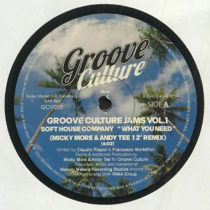 SOFT HOUSE COMPANY/MICKY MORE/ANDY TEE - Groove Culture Jams Vol 1