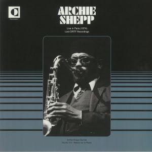 SHEPP, Archie - Live In Paris 1974: Lost ORTF Recordings