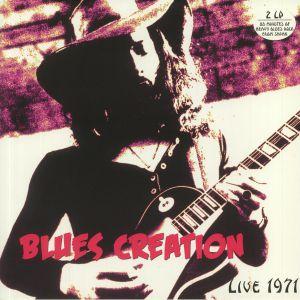 BLUES CREATION - Live 1971 (reissue)