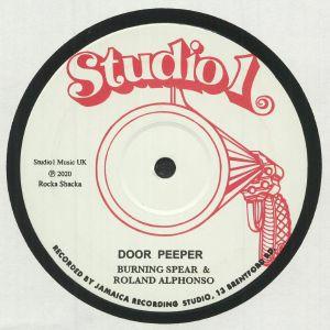 Burning Spear / Roland Alphonso / Willie Williams - Door Peeper