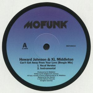 JOHNSON, Howard/XL MIDDLETON - Can't Get Away From Your Love