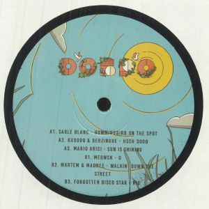 SABLE BLANC/KX9000/BERZINGUE/MARIO ARICI/MEOWSN/MAOREE/MARTEM/FORGOTTEN DISCO STAR - DOBRO 004