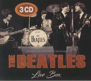 BEATLES, The - Live Box: Legendary Radio Broadcast Recordings