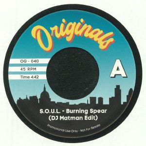 SOUL/PETE ROCK & CL SMOOTH - Burning Spear