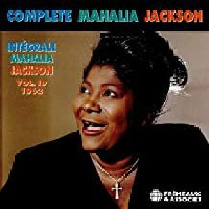 JACKSON, Mahalia - Integrale Mahalia Jackson Vol 19: 1962