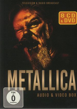 METALLICA - Audio & Video Box