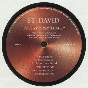 ST DAVID - Poetry & Rhythm