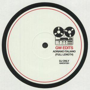 GW EDITS - Adriano Italiano