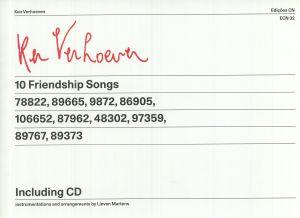 VERHOEVEN, Ken/LIEVEN MARTENS - 10 Friendship Songs