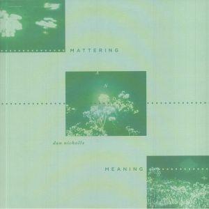 NICHOLLS, Dan - Mattering & Meaning