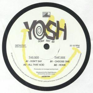 Yosh - Don't Say