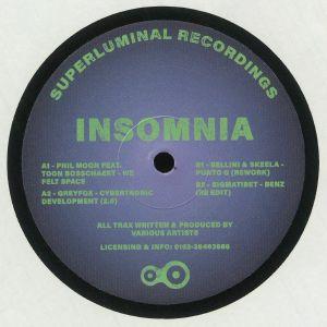 PHIL MOON/GREYFOX/BELLINI/SKEELA/SIGMATIBET - Insomnia EP