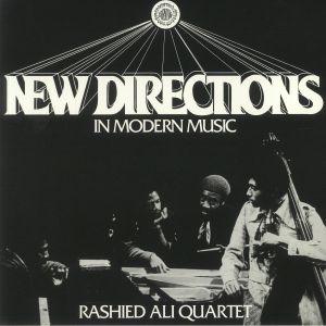 Rashied Ali Quartet - New Directions In Modern Music