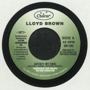 Lloyd Brown - Satisfy My Soul