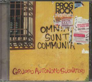 GRUPPO AUTONOMO SUONATORI - Omnia Sunt Communia