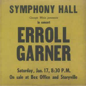 GARNER, Errol - Symphony Hall Concert