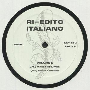 RI EDITO ITALIANO - Volume 1