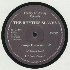 The Rhythm Slaves - Lounge Excursion EP