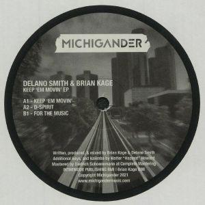 SMITH, Delano/BRIAN KAGE - Keep 'Em Movin' EP