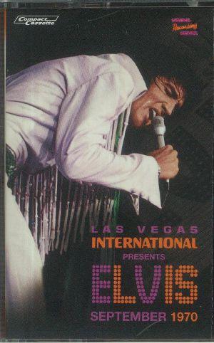 PRESLEY, Elvis - Las Vegas International Presents Elvis: September 1970