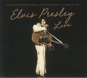 Elvis Presley - Vegas Hilton Dinner Show Las Vegas Nevada 5th February 1973